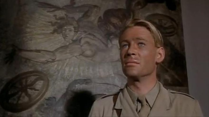 Peter O'Toole como Lawrence de Arabia