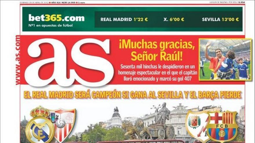 De las portadas del día (29/04/2012) #12