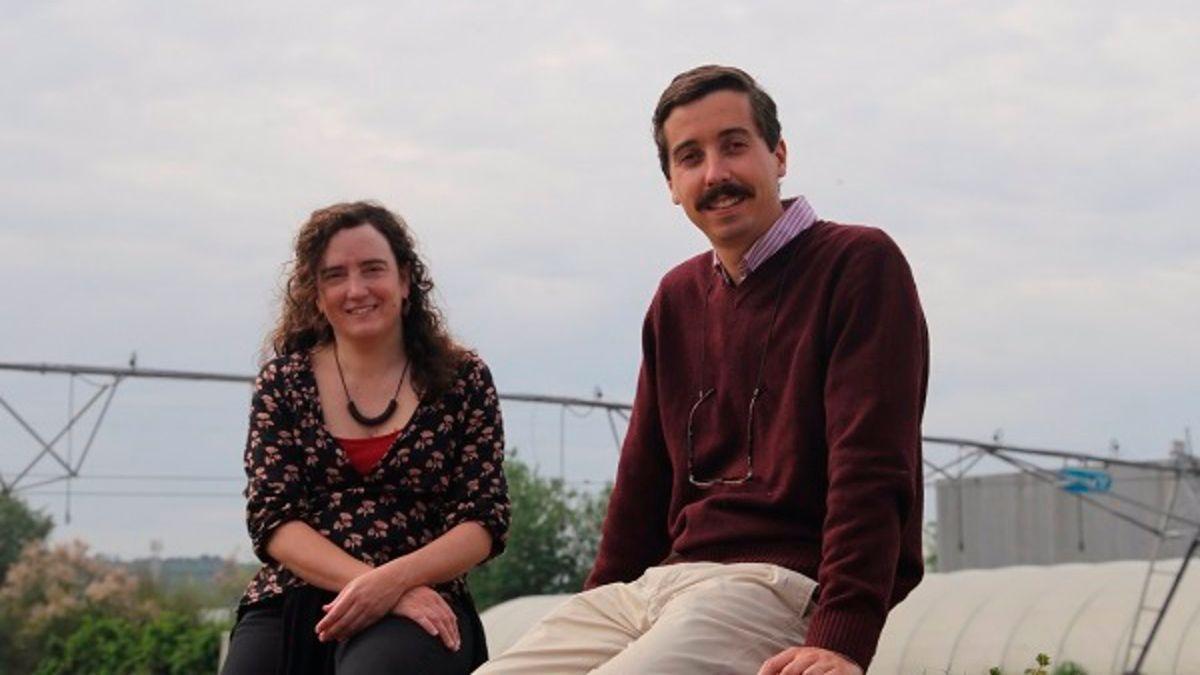Los autores del estudio, Margarita García Vila y Tomás Roquette.