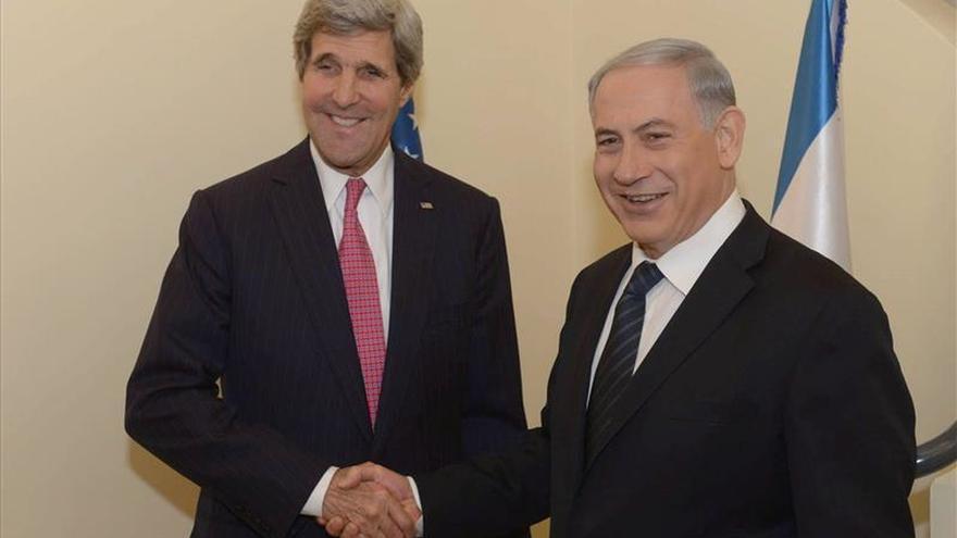 Kerry y Netanyahu hablan en EE.UU. de mejorar las condiciones en Gaza y Cisjordania