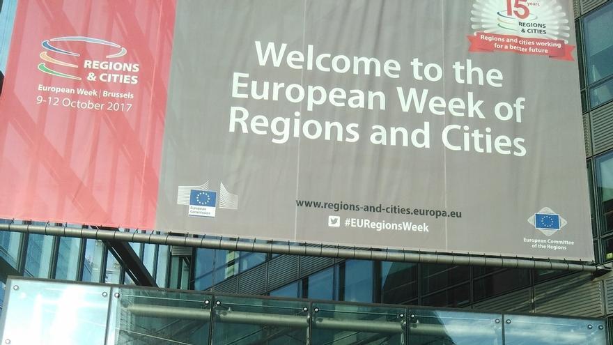 Eudel participa en la Semana Europea de Ciudades y Regiones sobre innovación y desarrollo urbano