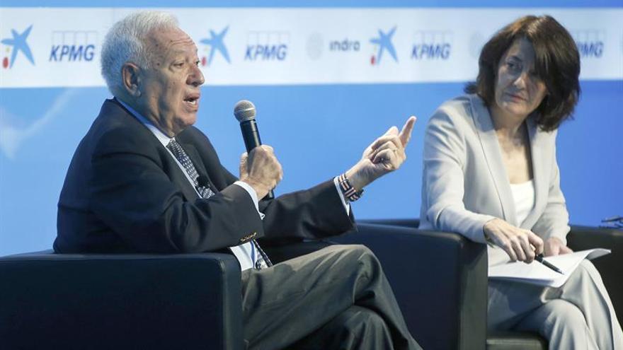 Margallo: Yo no he esperado a una campaña electoral para hablar de Venezuela
