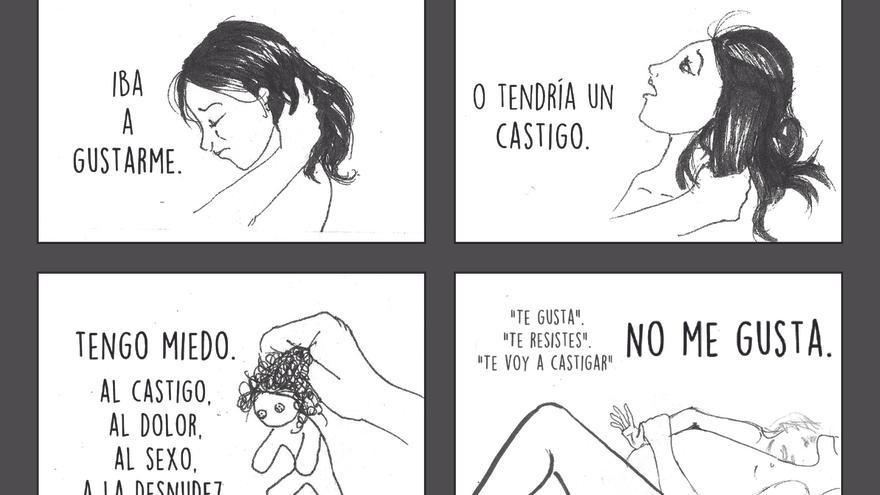 Página 36 del cómic 'Buscando Justicia', de Ana.   Imagen cedida por la Asociación Mujeres de Guatemala.
