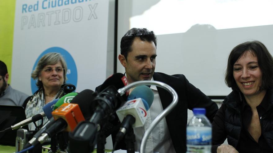 """El Partido X presentará """"candidaturas ciudadanas"""" en las municipales y contactará con otros partidos como Podemos"""