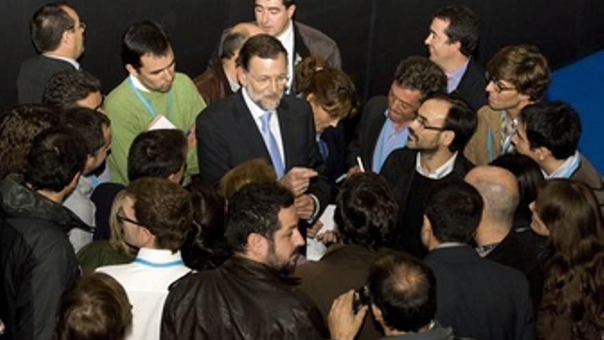 Mariano Rajoy Con Periodistas