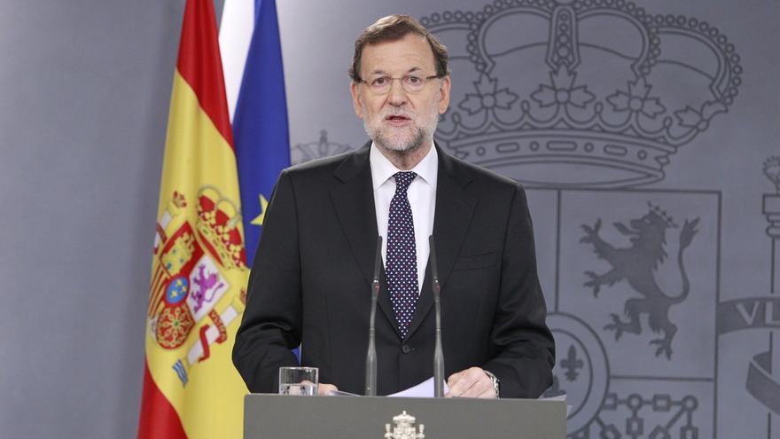 """Rajoy, ante el desafío en Cataluña: """"Al Gobierno no le va a temblar en absoluto el pulso para tomar decisiones"""""""