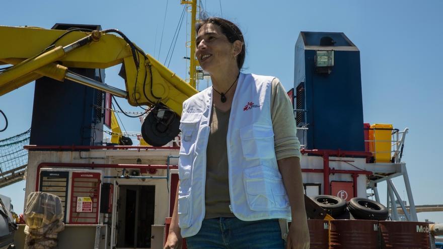 Paula Farias, experta en Acción Humanitaria de Médicos Sin Fronteras