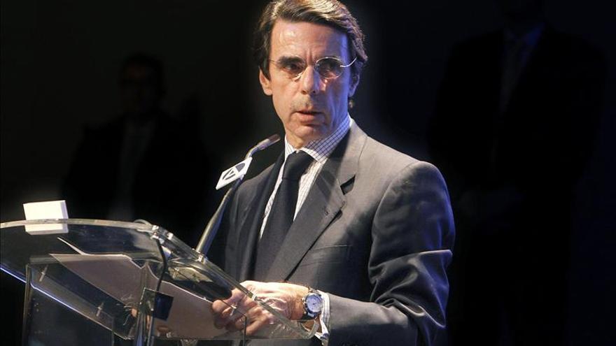 """Aznar dice que """"Thatcher fue una de las más valientes defensoras de la libertad"""""""