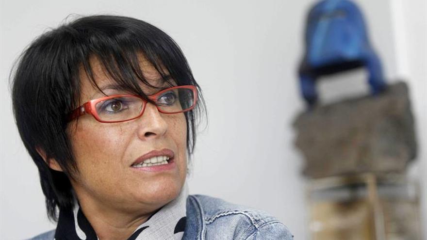 La directora del Instituto Canario de Igualdad, Elena Máñez. (EFE/Cristobal García).
