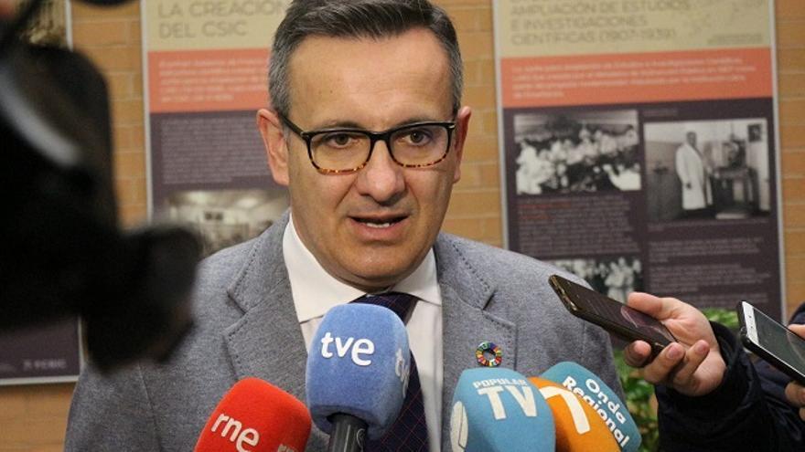 Diego Conesa, secretario general y diputado del PSOE en la Asamlea Regional de Murcia