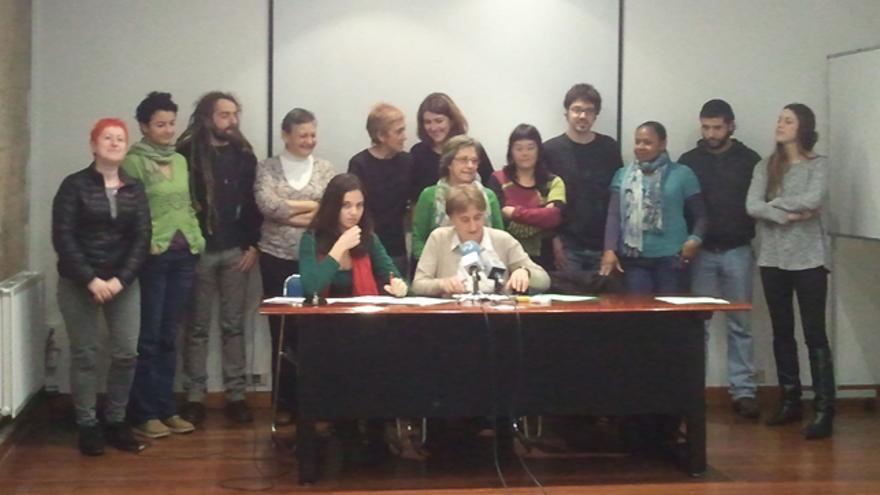 Trabajadoras del hogar y SOS Racismo denuncian la explotación laboral en el sector. /G. A.