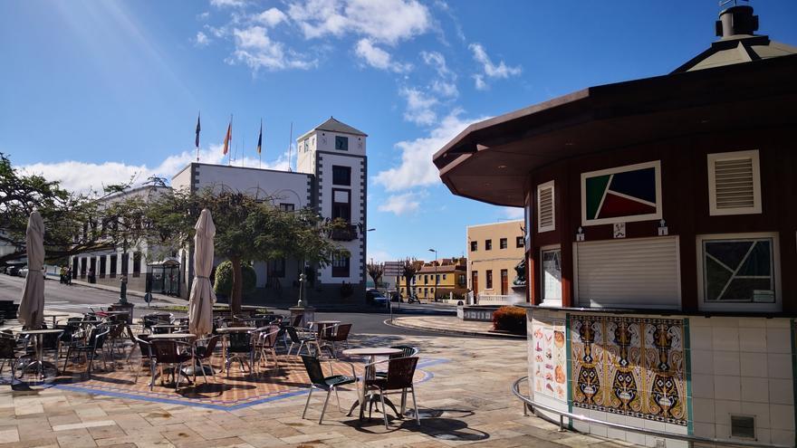 Centro urbano de  Tazacorte.