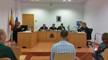 Sala del juicio celebrado este martes en el Juzgado de Instrucción número 2. Foto: LA PALMA AHORA.