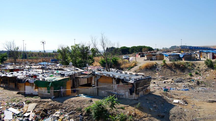 El asentamiento chabolista de El Gallinero