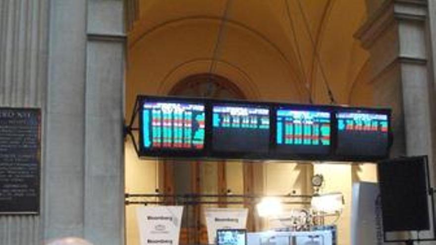 El Ibex 35 abre la sesión con una caída del 1,47%