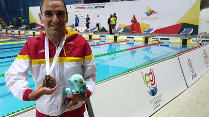 El nadador paralímpico Miguel Ángel Martínez Tajuelo.