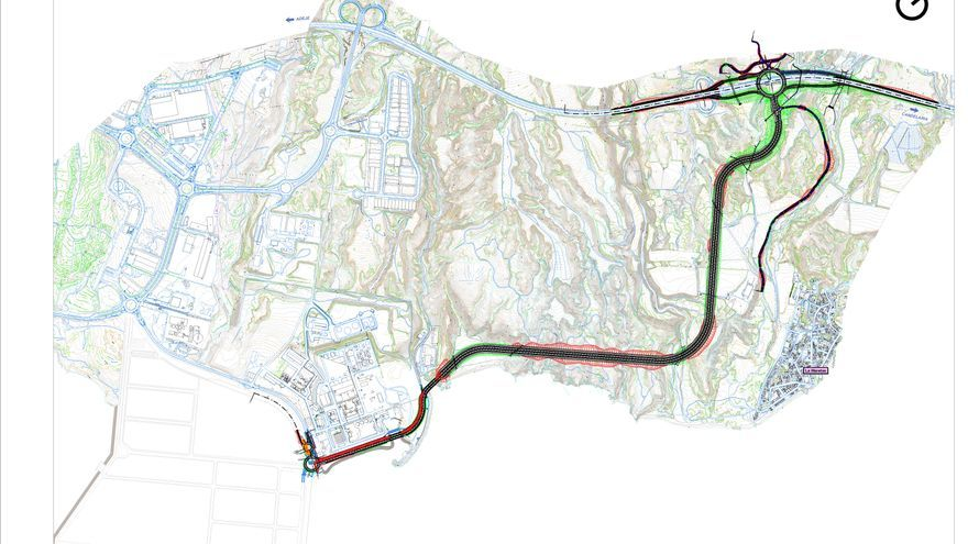 Proyecto de viario de conexión entre el Puerto de Granadilla y la autopista del Sur (TF-1)