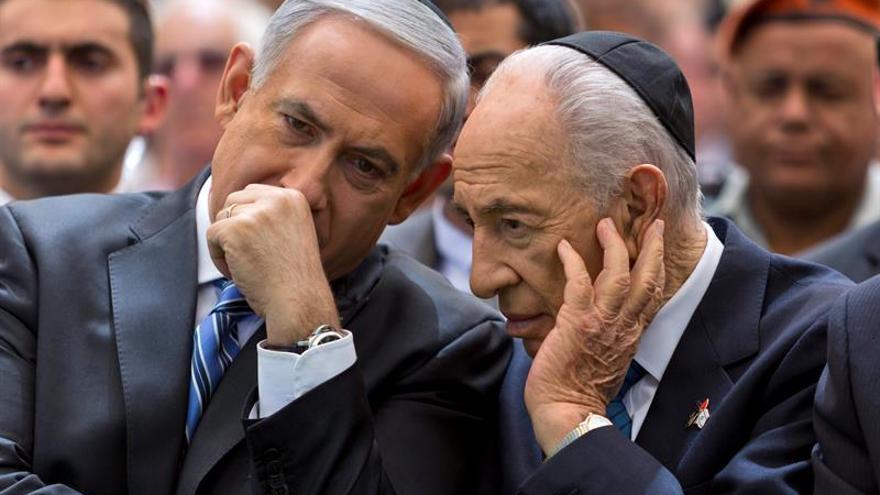 "Netanyahu expresa su ""pesar personal"" por la muerte de Peres"