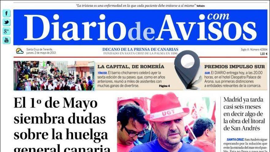 Las portadas del día (2-05-2012) #3
