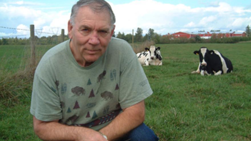 Howard en Farm Sanctuary ©Howard Lyman