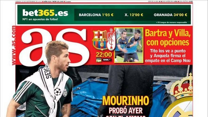 De las portadas del día (22/09/2012) #12
