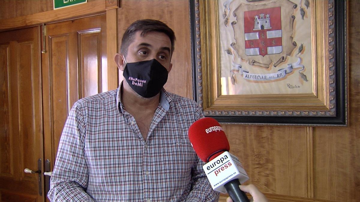 El portavoz de IU en la Diputación de Córdoba, Ramón Hernández, en una imagen de archivo.