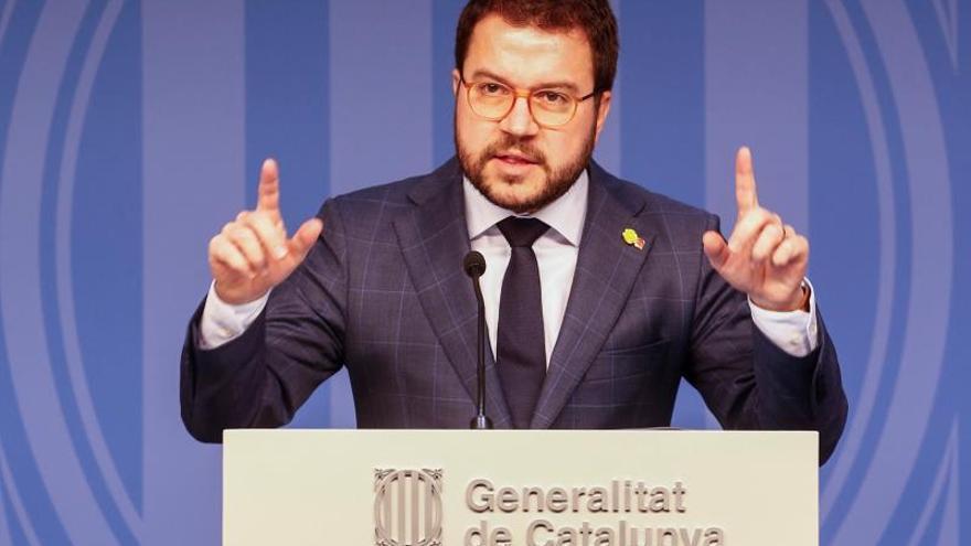 """ERC dice estar """"al lado"""" al president Torra tras la orden de inhabilitación"""