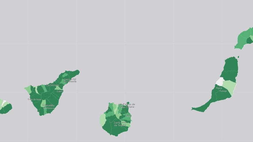 Tenerife vuelve a encabezar los contagios diarios mientras Lanzarote consigue reducirlos a cero