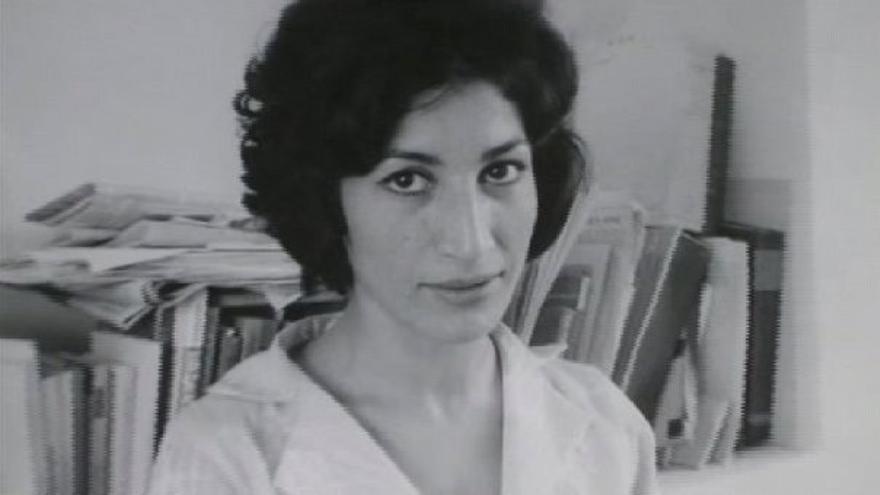 La poeta iraní Forugh Farrojzad.