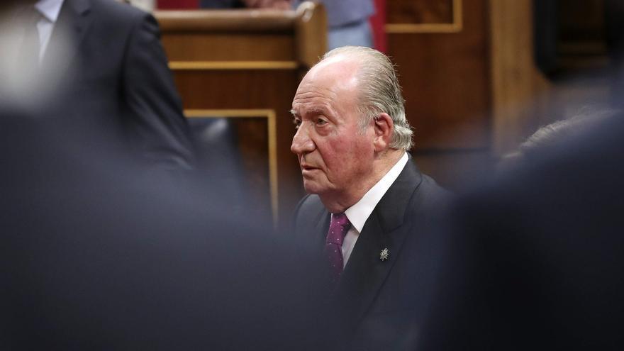 Los rey emérito Juan Carlos.