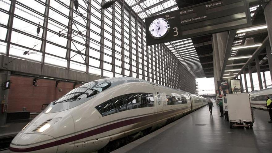 Más de 3,1 millones de viajeros usaron el AVE Barcelona-Madrid, un 16 por ciento más