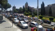 Manifestación en Toledo, convocada por Vox