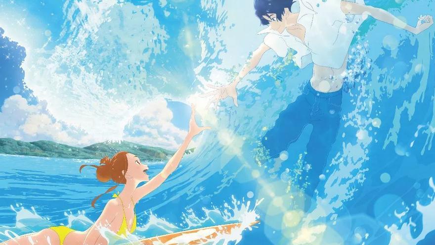 Póster de 'El amor está en el agua'
