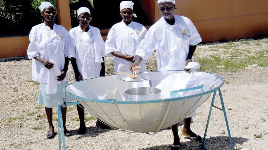 Cocinas solares utilizadas en Haití