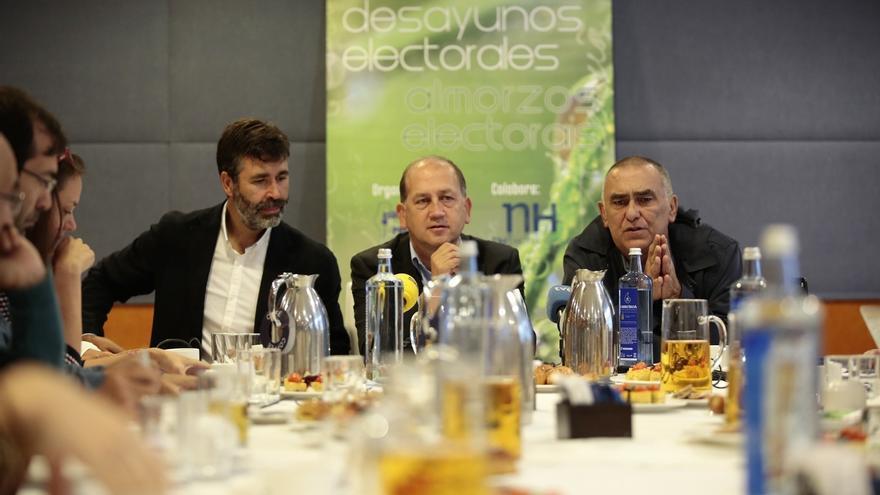 """Leiceaga sostiene que Feijóo no acudirá a más debates porque """"quiere proteger"""" su imagen sobre todo en España"""