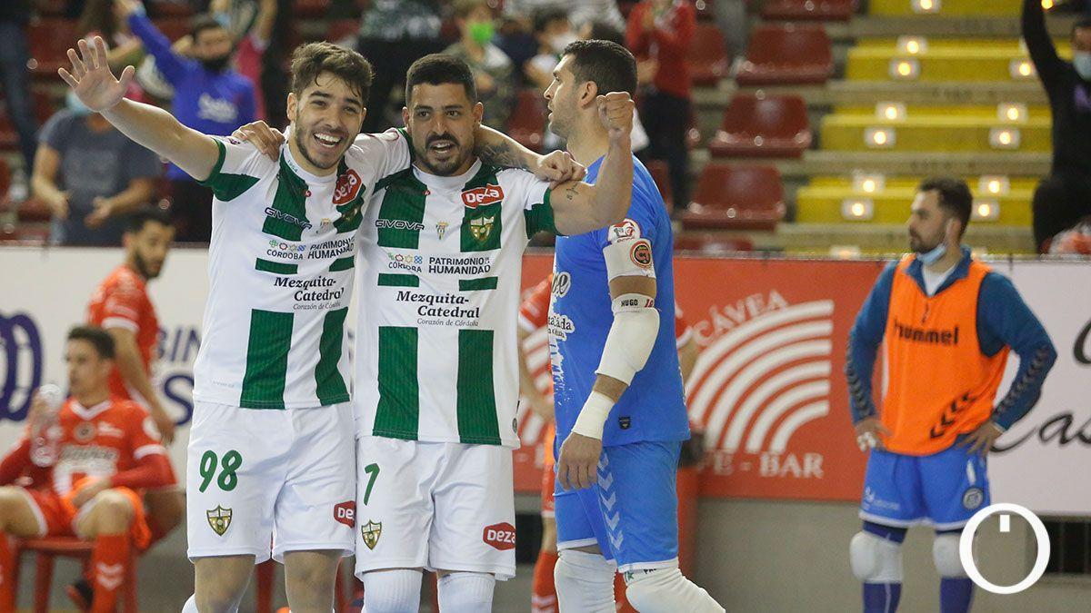 Jesús Rodríguez celebrando un gol en Vista Alegre