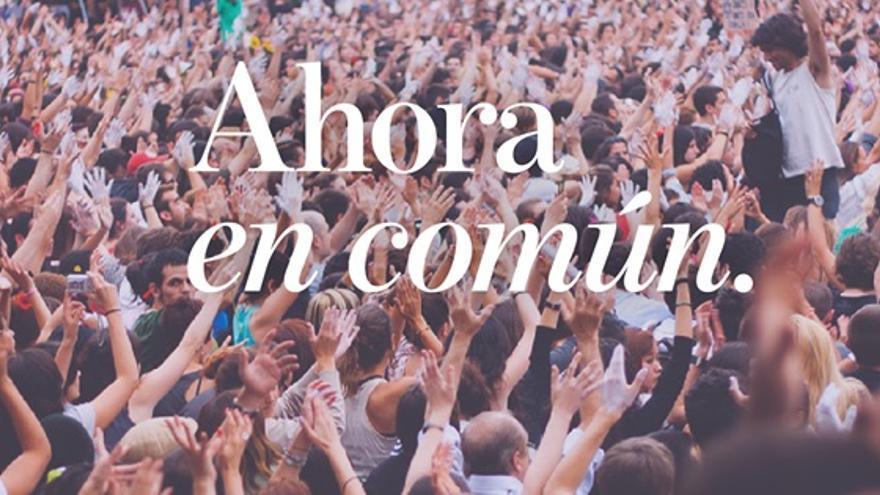 Imagen de Ahora en Común.