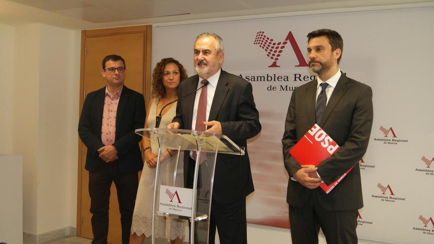 El secretario general del PSOE en la Región de Murcia, Rafael González Tovar