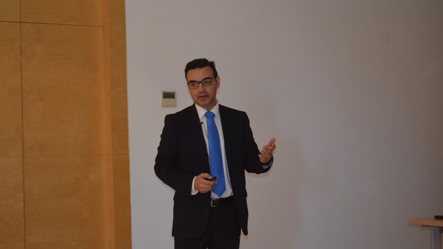 José Rafael Díaz, director de la Autoridad Portuaria tinerfeña