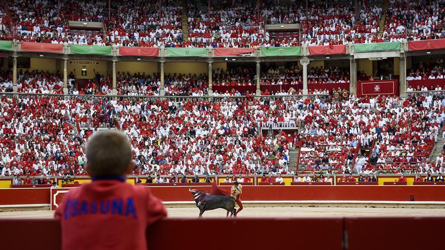Plaza de toros de Pamplona 4. Sanfermines. Foto: Tras los Muros