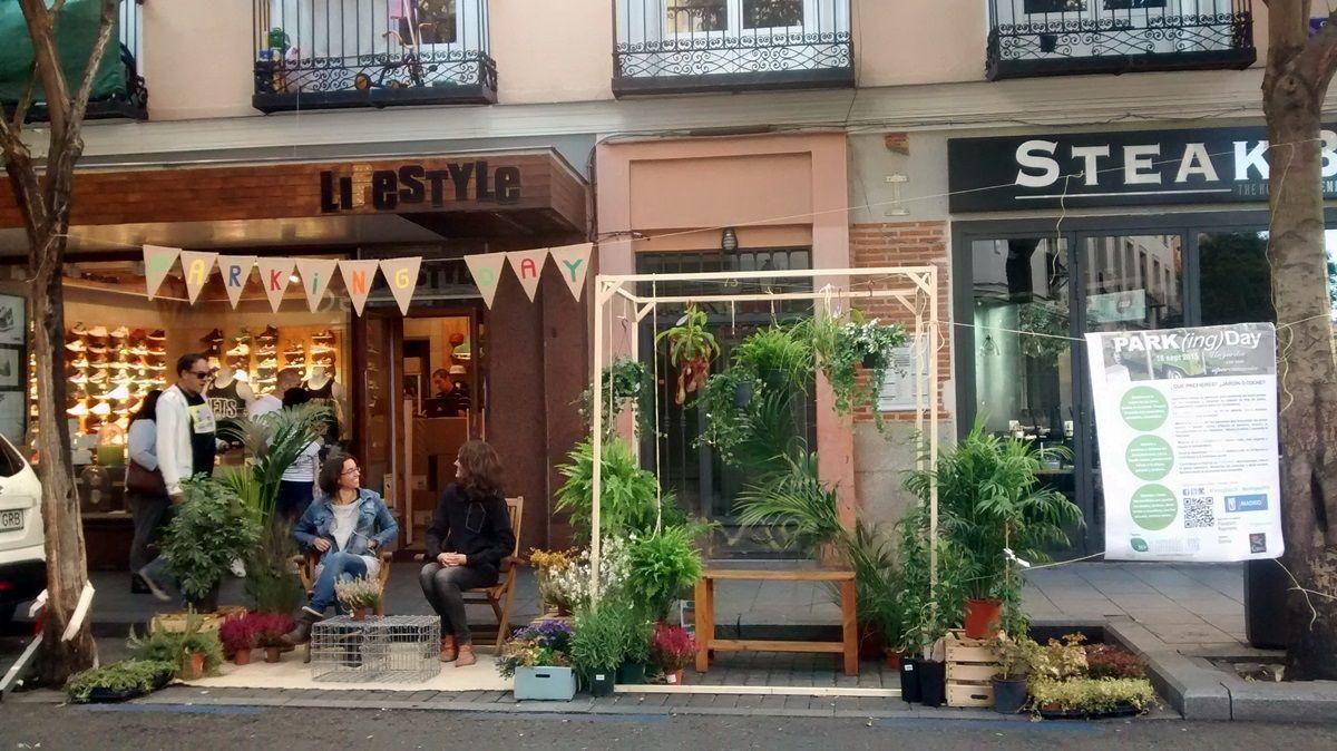 El jardín creado sobre Fuencarral 73 | SOMOS MALASAÑA