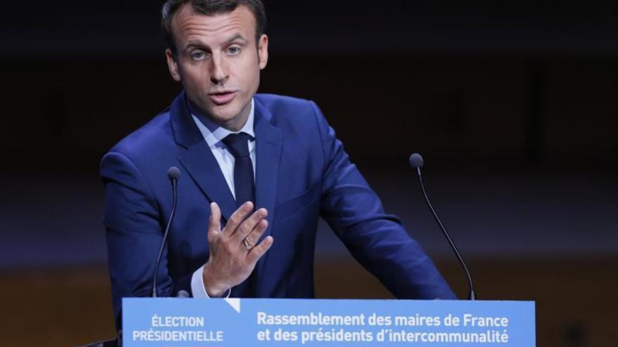 """Macron: """"La gente no quiere menos Europa, sino una Europa que funcione"""""""