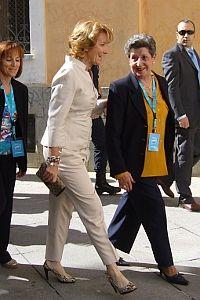 Aguirre, acudiendo a votar en 2009 | Foto: Somos Malasaña