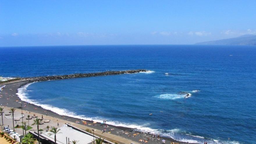 Playa de Martiánez, en una imagen de archivo, en Puerto de la Cruz