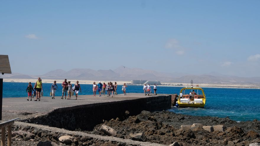 Puertito de Isla de Lobos