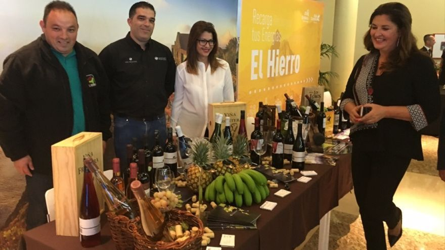 El Hierro participa este fin de semana en la Feria 'Especial Degusta.Me', en Costa Adeje (Tenerife), donde la isla exhibirá sus bellezas turísticas y su rica gastronomía