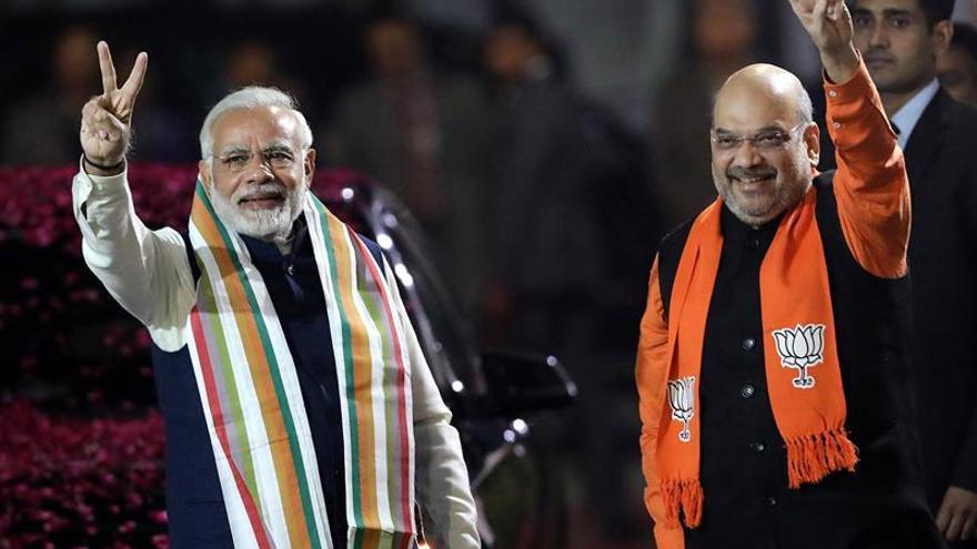 Modi gana la última gran elección india del año en el estado de Gujarat
