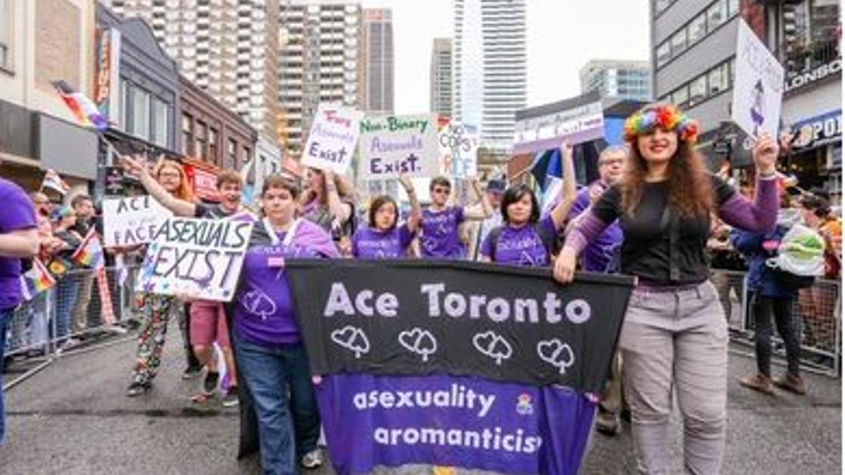 Según cifras oficiales, se estima que el 1% de la población es asexual