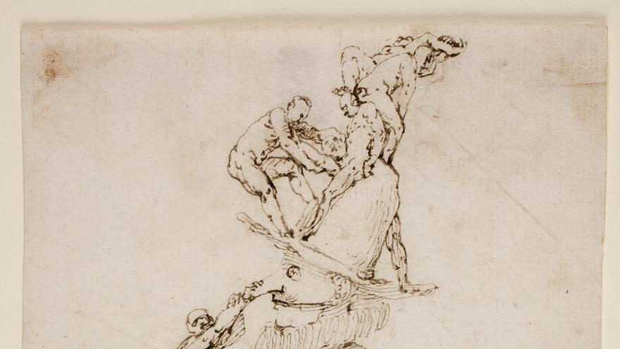 El arte mayor del dibujo en José de Ribera