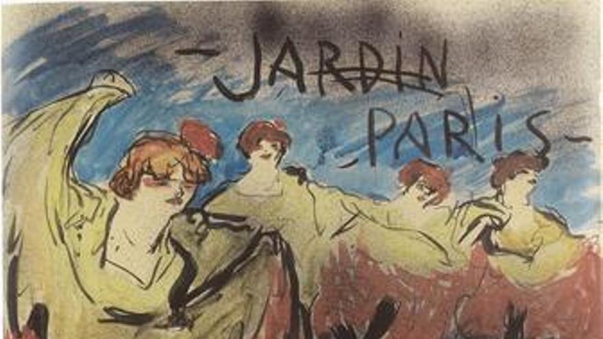 Obra Jardin Paris, de Picasso